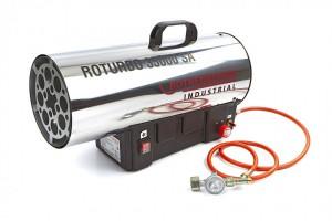 Hete luchtkanon (gas/elektra heater)